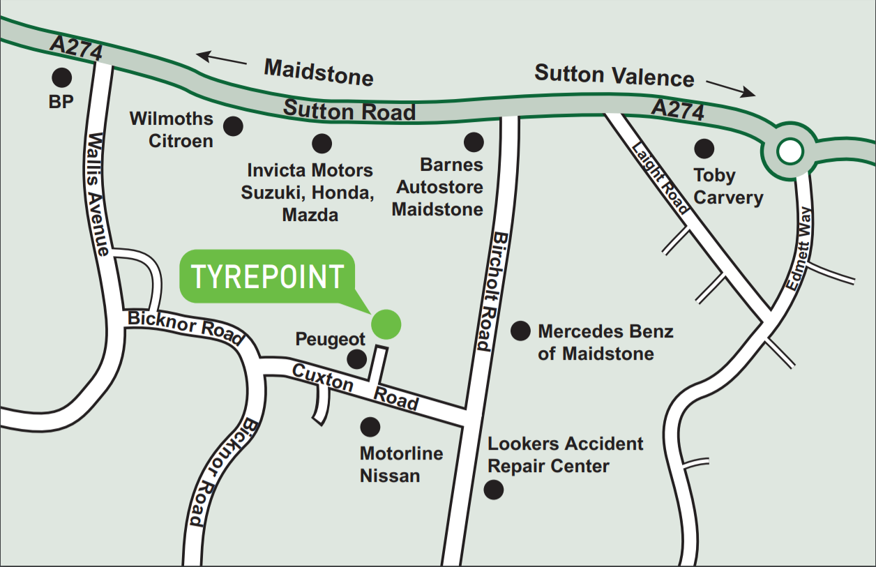 Tyre Point Google Location